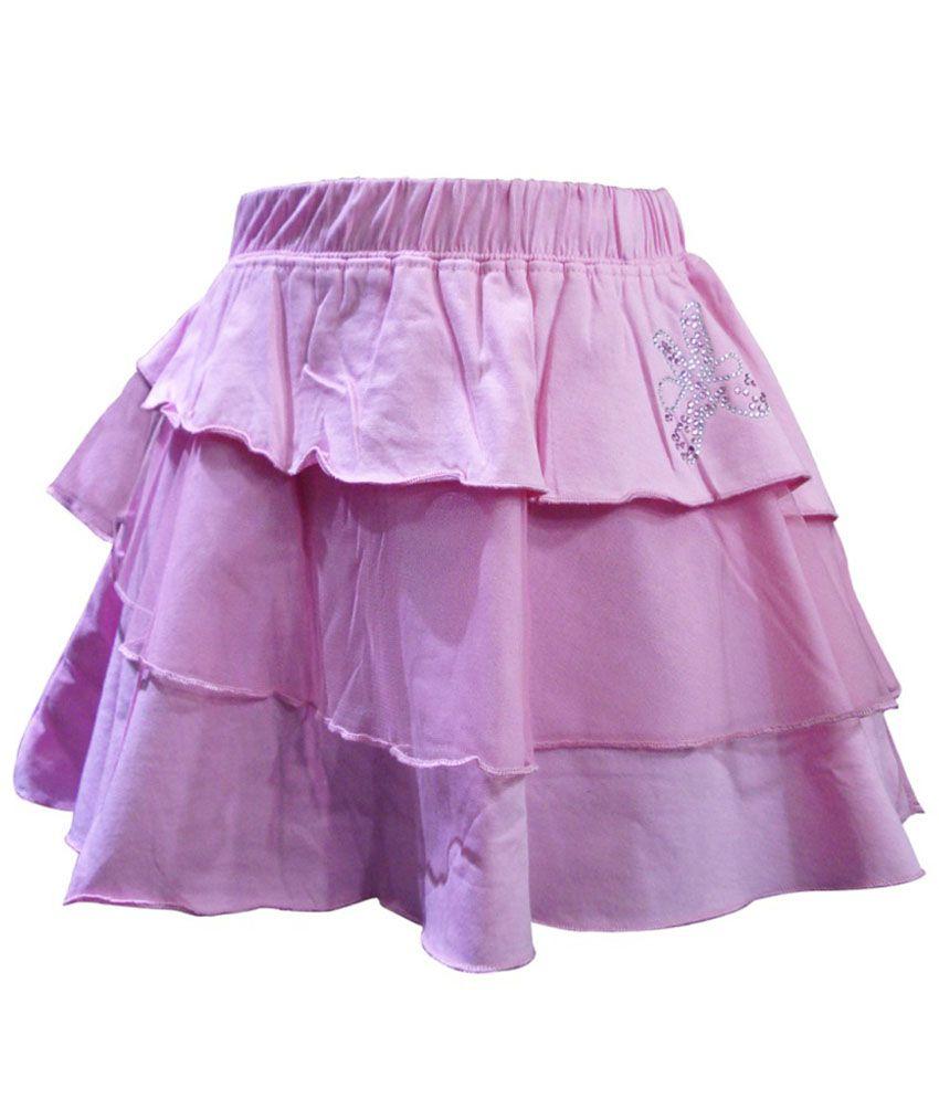 Kothari Pink Skirt For Girls