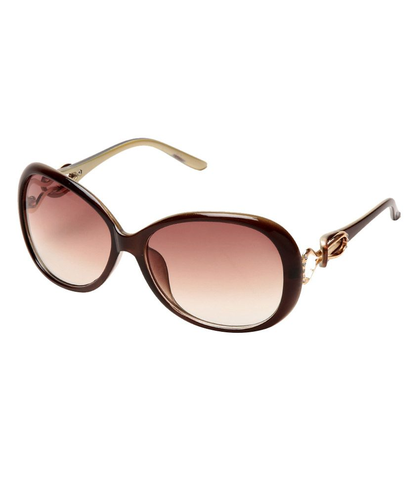 Estycal Brown Frame Women Sunglasses