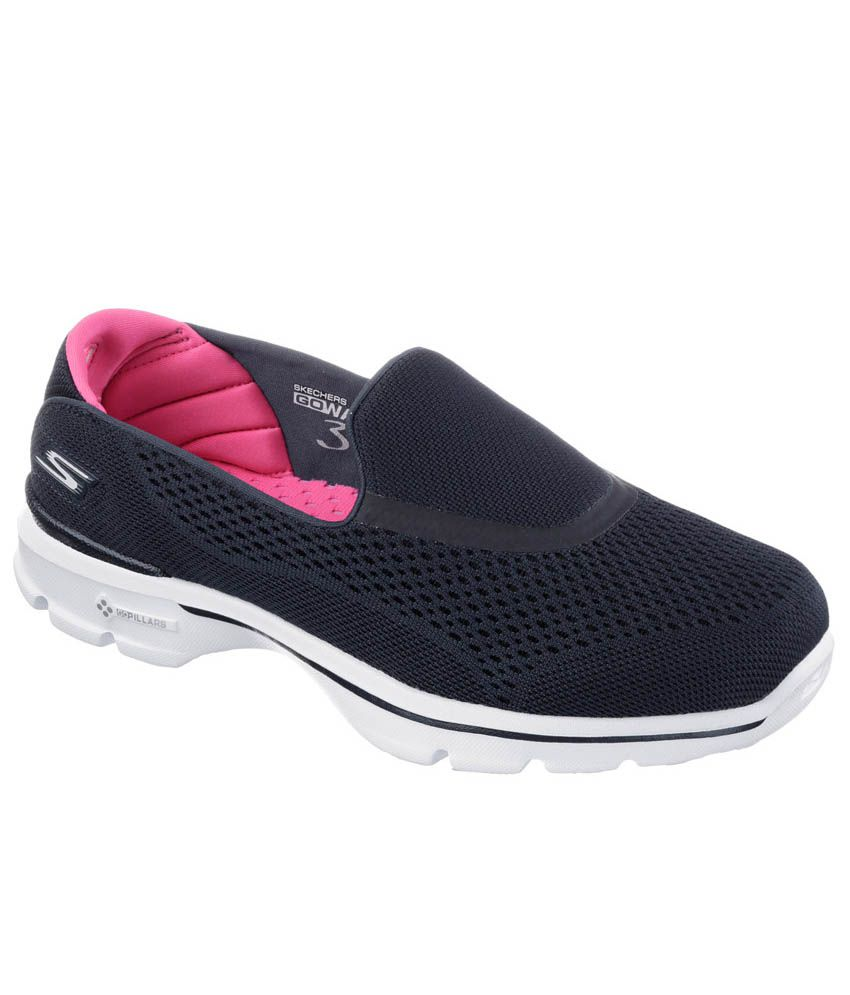 6c8e4adfc56 Skechers Black Sports Shoes Price in India- Buy Skechers Black Sports Shoes  Online at Snapdeal