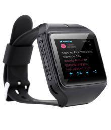 Kenxinda Black Silicon Automatic Smartwatch