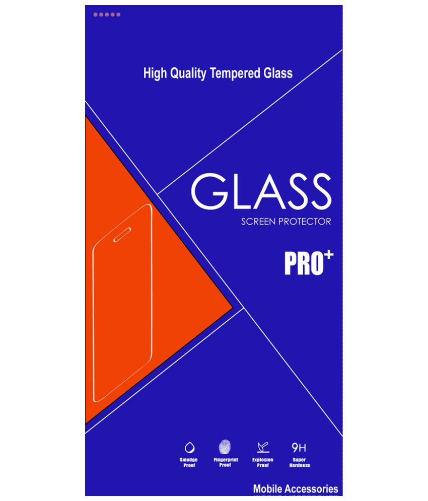 Samsung Galaxy Z1 SMZ130H - Blue Tempered Glass Screen Guard by Nicedeal