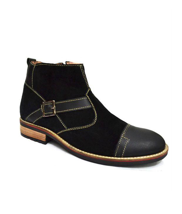 Zoot24 Black Zipper Boots