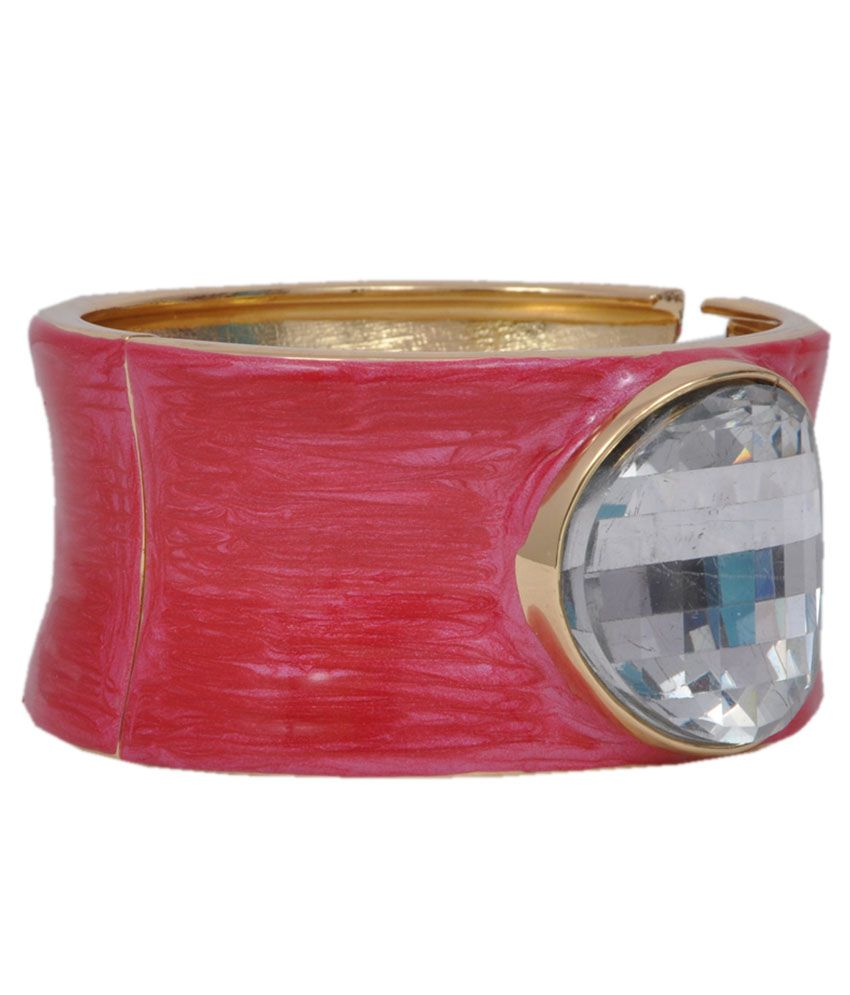 Rootz Pink Alloy Cuff