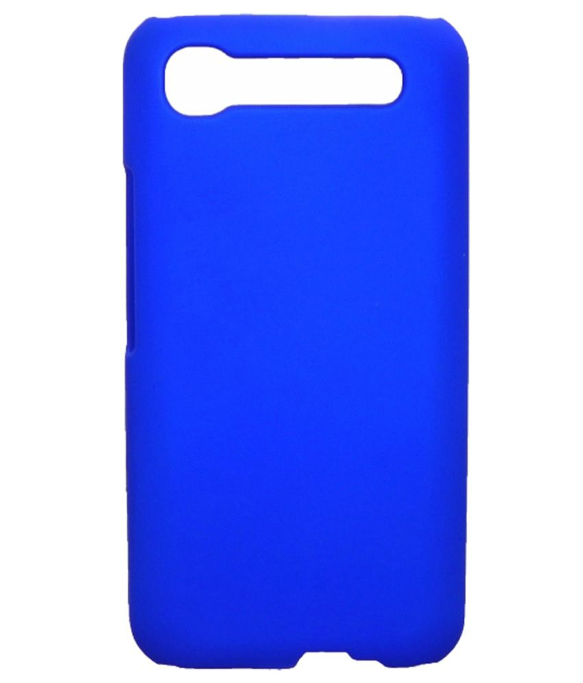 on sale 3ac82 03908 White Negro Back Cover For Intex Aqua Y2 Pro - Blue - Plain Back ...