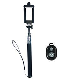 Digitek DBST-002 Bluetooth Selfie Stick- Black