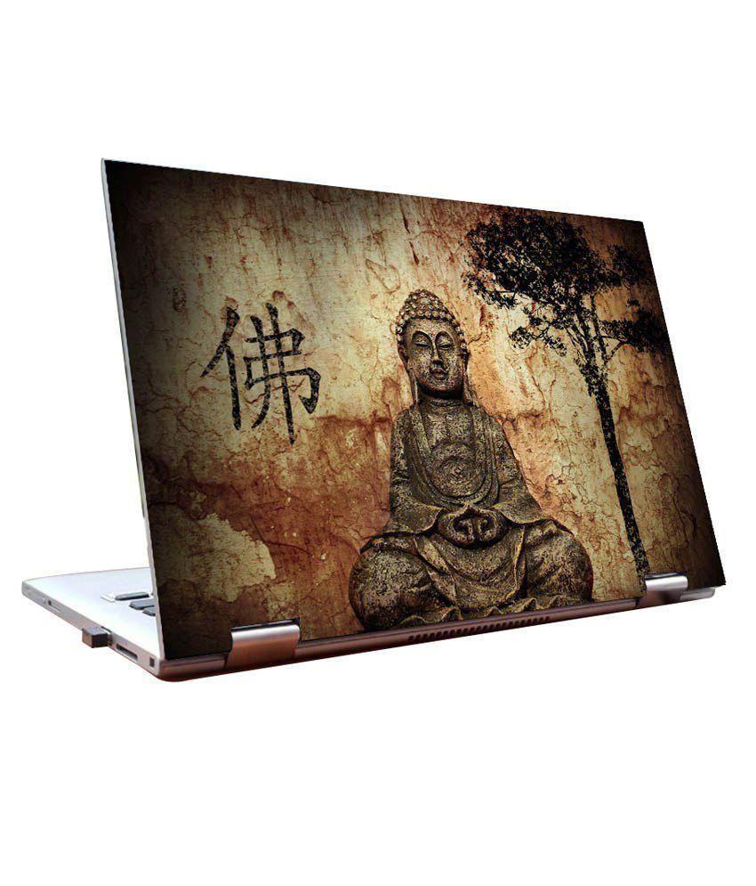 Laptop Skins 14 Inch Lord Buddha Dell Lenovo Acer Hp Jyard