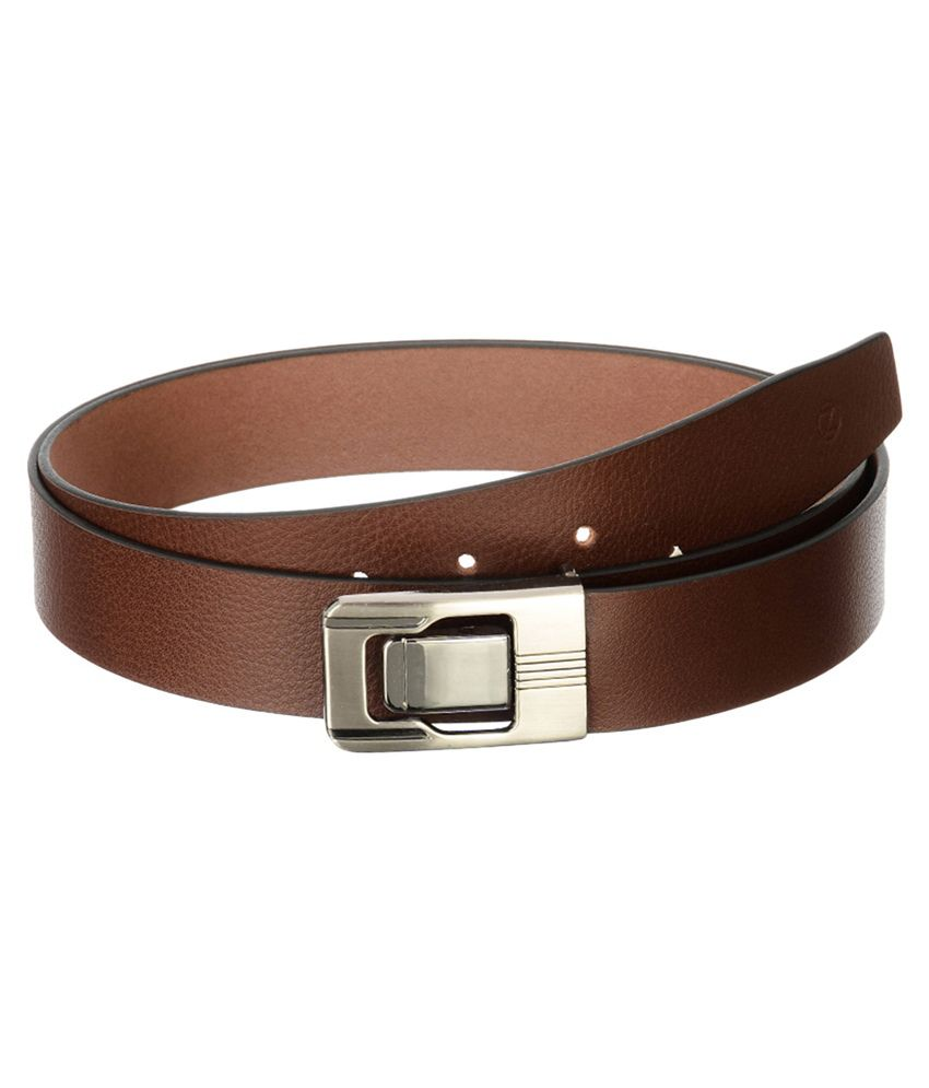 Osaiz Brown Leather Belt