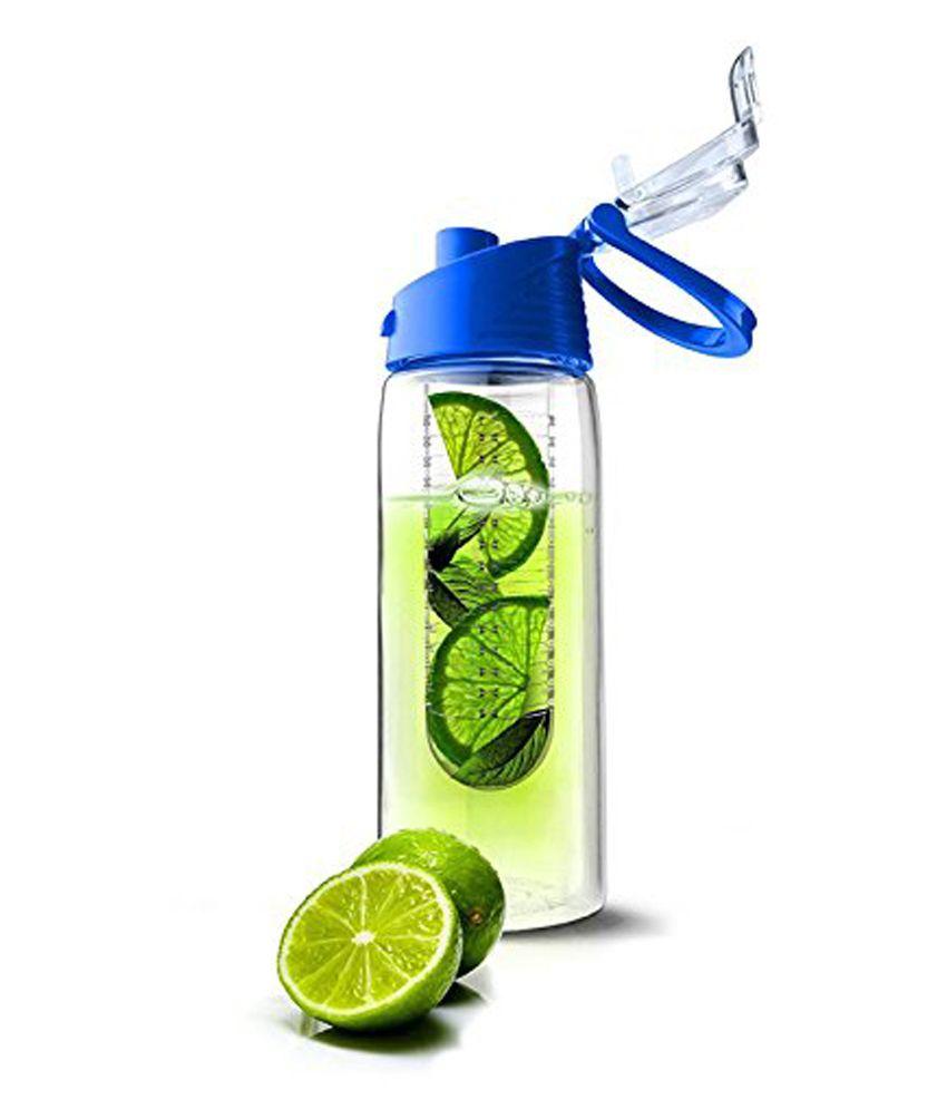 Daaku Fruit Infuser Bottle With Blue Lid Buy Online At