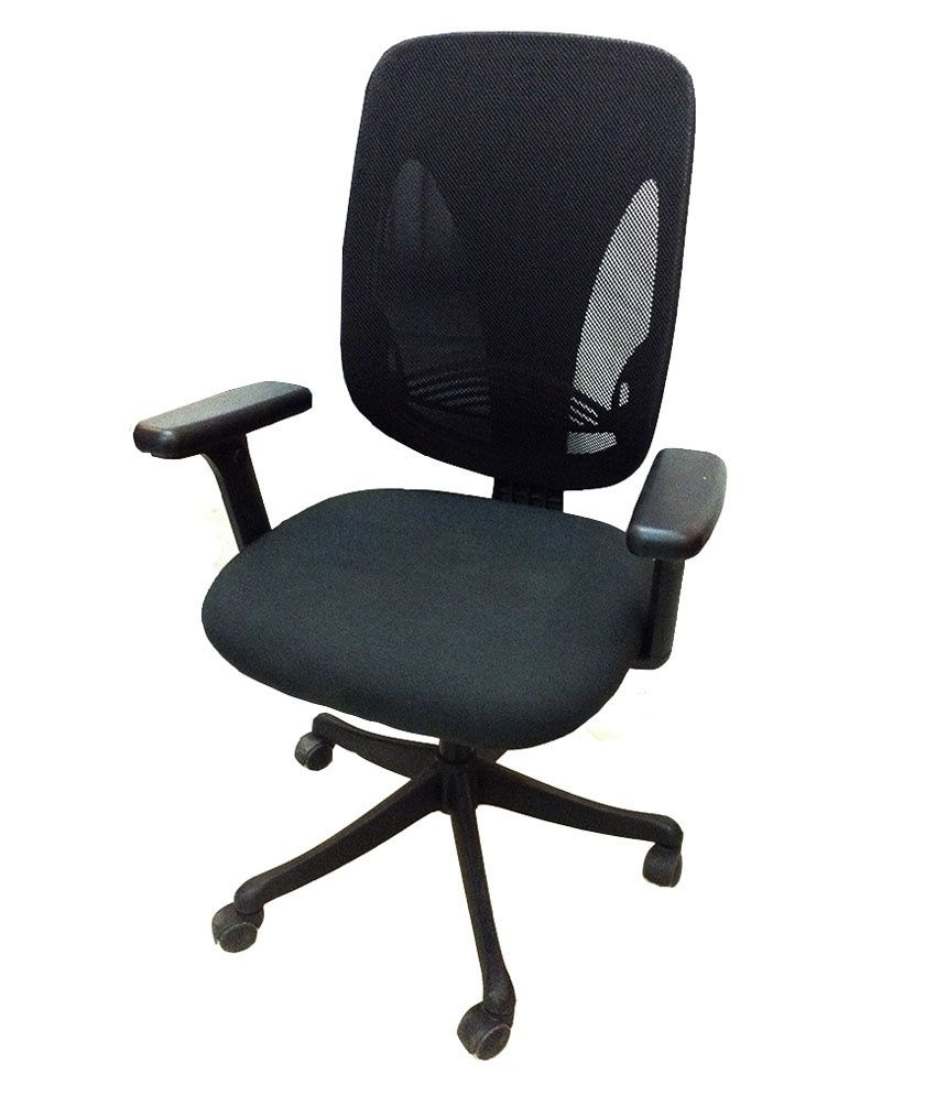 office chair in black buy online at best price in india