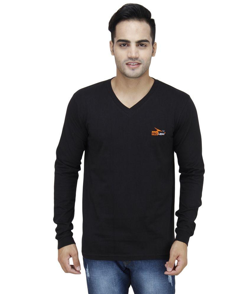 PRO Lapes Black Cotton T - Shirt