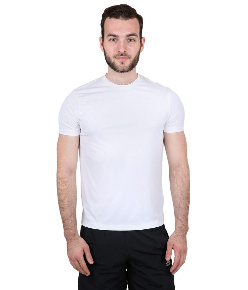 Freecultr Express White Poly Blend T-shirt