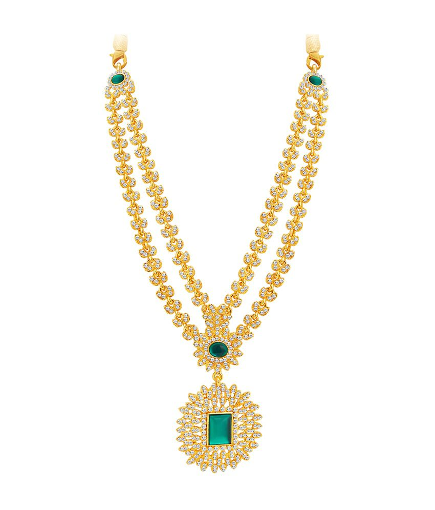 necklace sukkhi gold goldplated set buy plated product