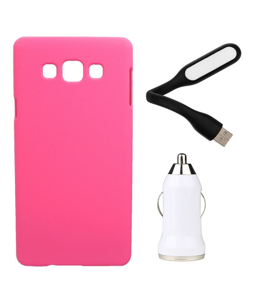 Toppings Back Cover for Samsung Galaxy J2 - Pink