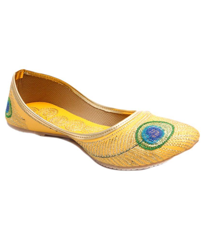 Fans Footcraft Yellow Jutti
