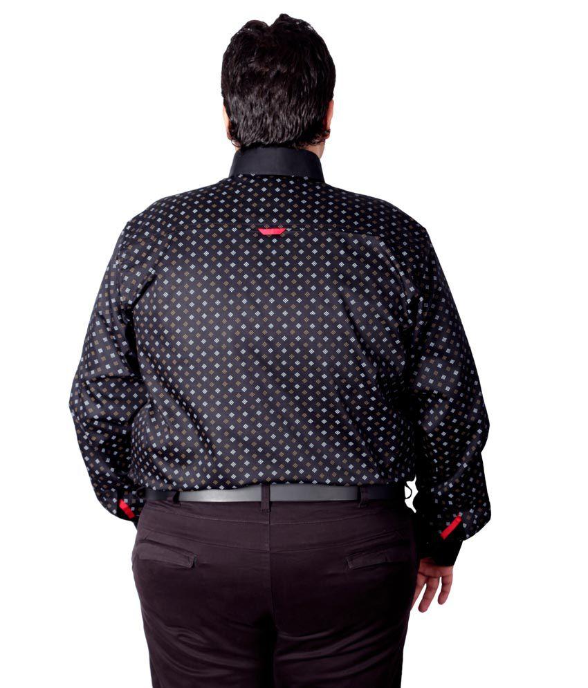 d506372253ab5 Xmex Black Partywear Shirt - Buy Xmex Black Partywear Shirt Online ...