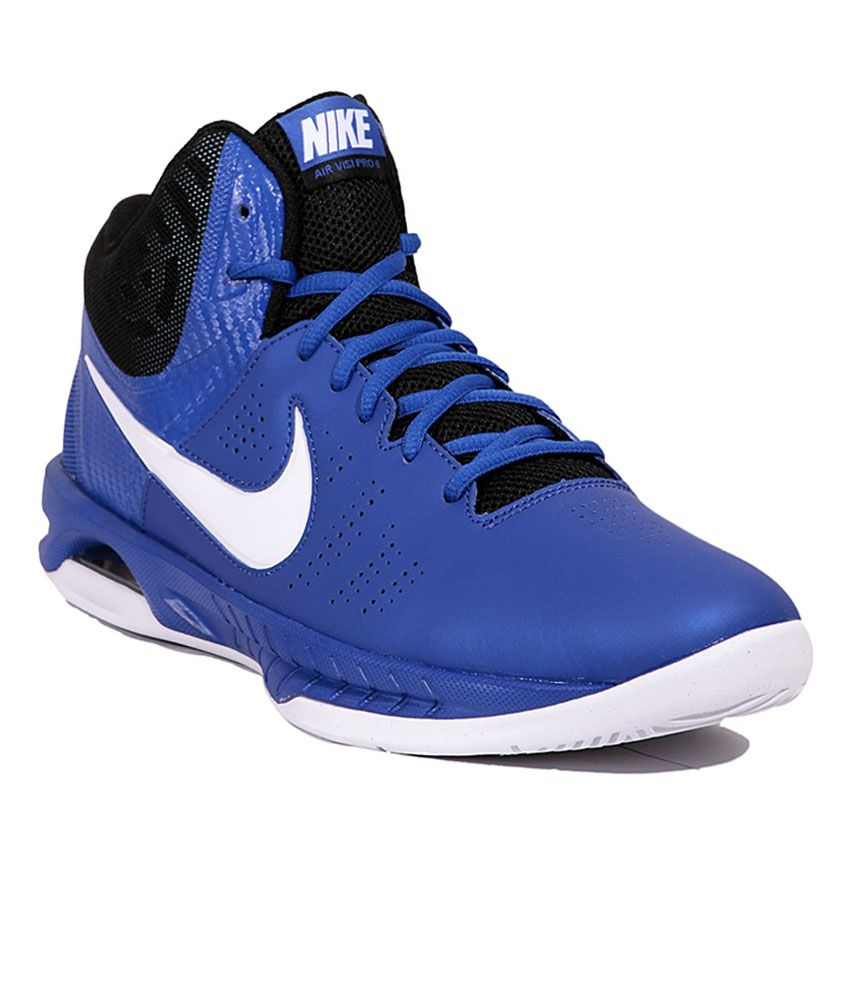 7b0e7c32acb3 Nike Air VISI Pro 6 GM RYL Wht Men Basketball Sports Shoes - Buy Nike Air  VISI Pro 6 GM RYL Wht Men Basketball Sports Shoes Online at Best Prices in  India ...