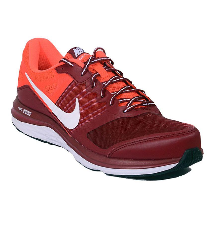 Nike Dual Fusion X MSL TM RED WHT Men
