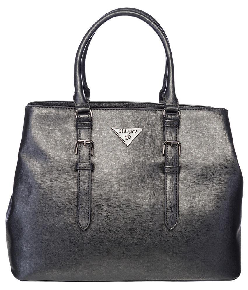Elespry Black Shoulder Bag