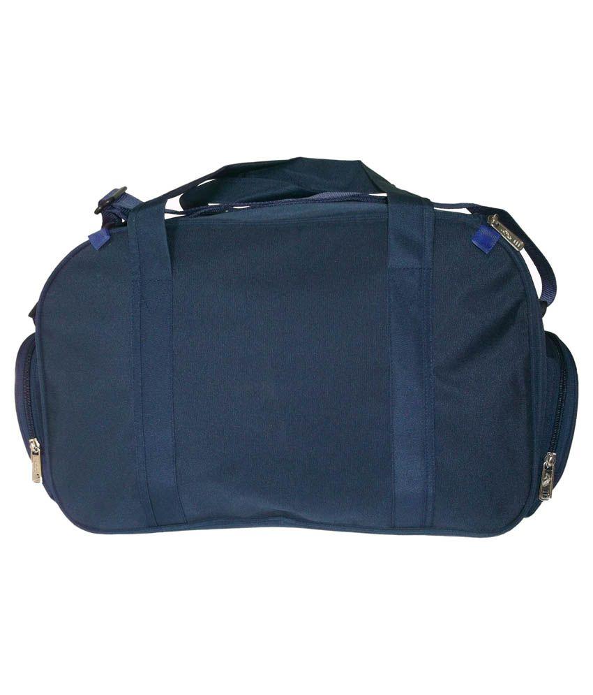 Fidel Navy Blue Polyester Duffle Bag - Buy Fidel Navy Blue Polyester ... 6ebaabcd29997