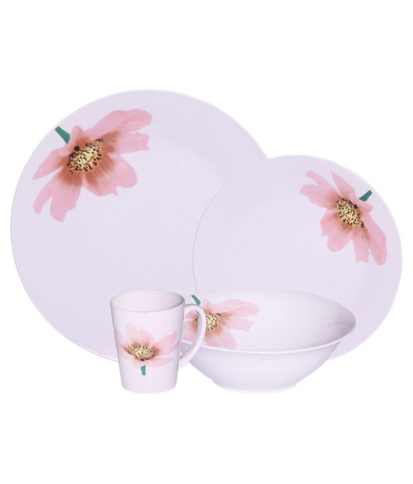 Metier Imported Porcelain Dinner Set - 8 Piece: Buy Online at