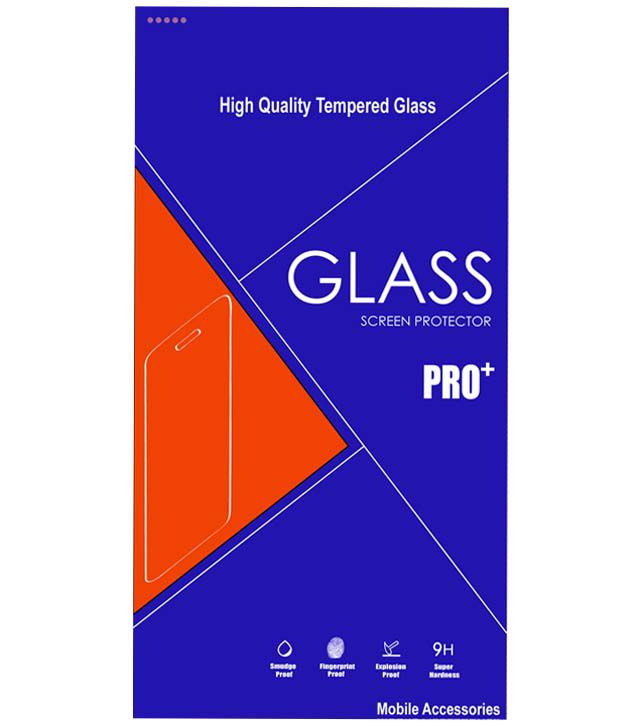 LG L80 Dual D 380 Tempered Glass Screen Guard by Nicedeal