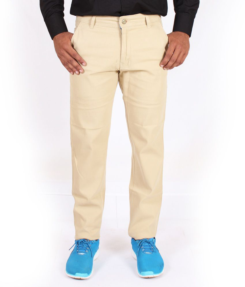Krazy Khaki Cotton Chinos