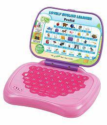 Prasid Lovely English Learner Kids Laptop