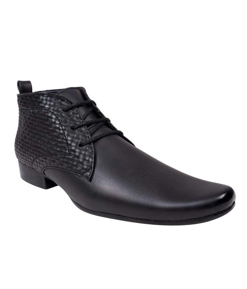 Chris Brown Black Boots