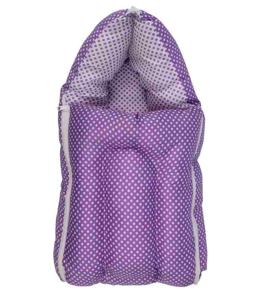 Inztanz Purple Mixed Cotton Sleeping Bag