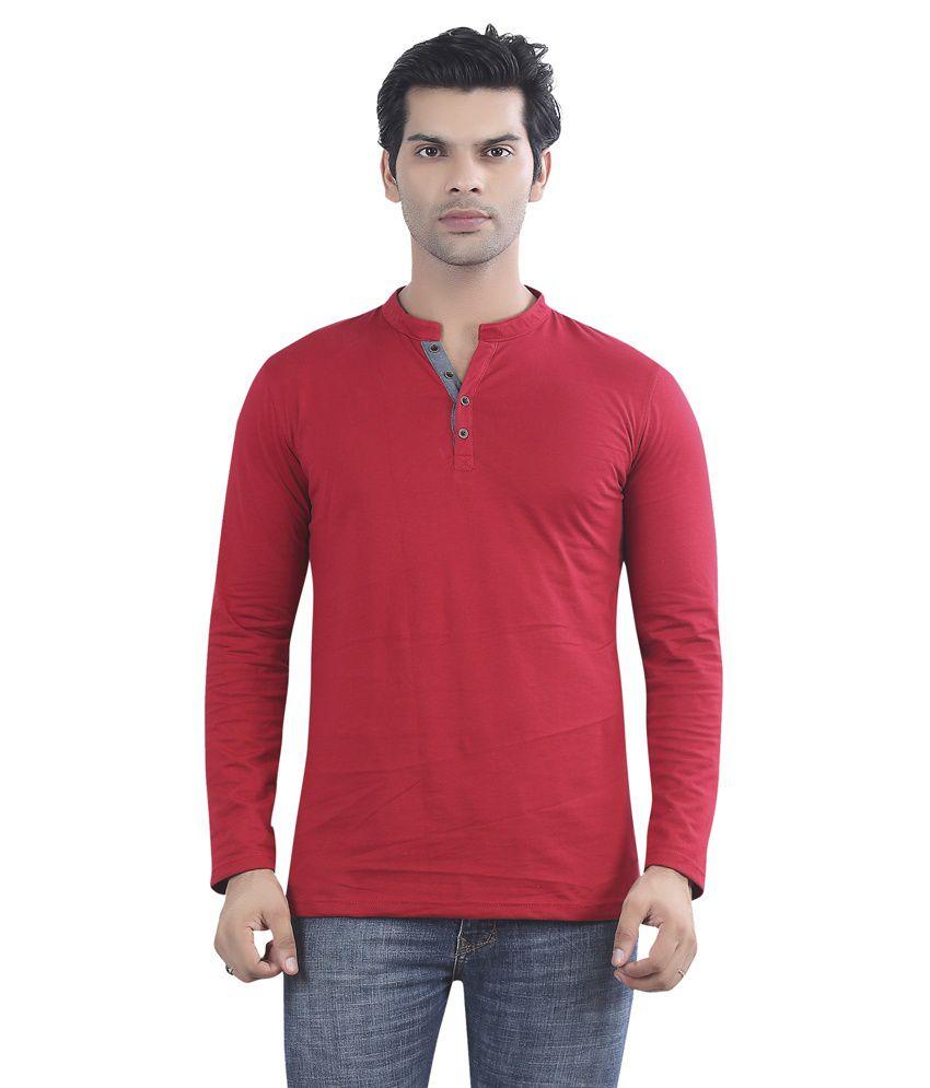 Maniac Red Cotton T-shirt