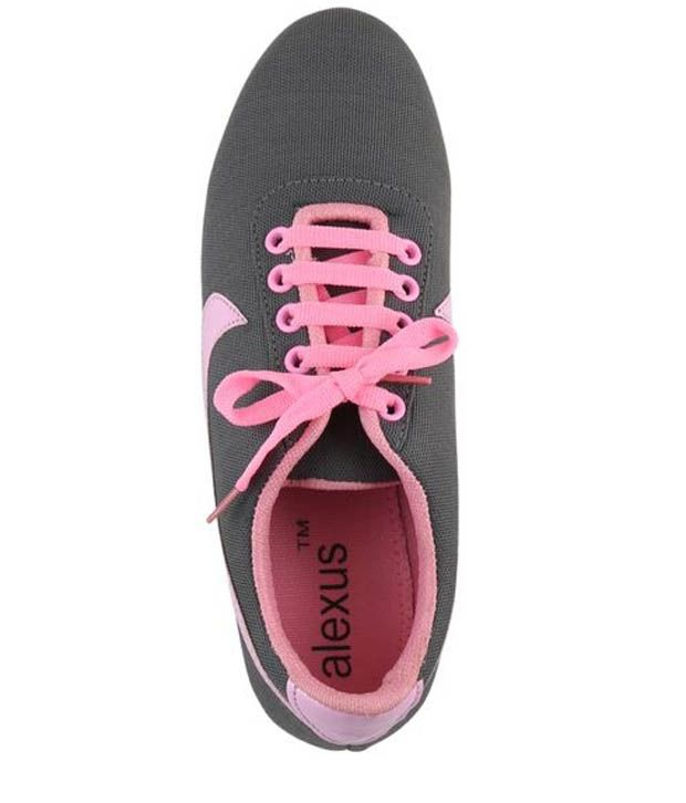 Alexus Gray Casual Shoes