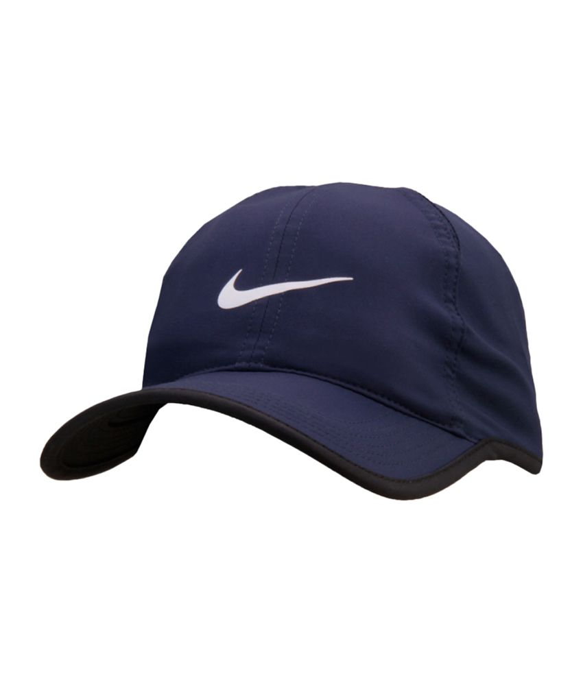 5ceae9c9aa95f Nike Navy Blue Feather Light Tennis Cap - Buy Online   Rs.