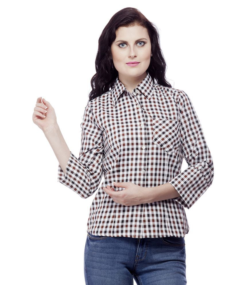 Buy trendz clothing multi cotton shirts online at best for Best dress shirts online
