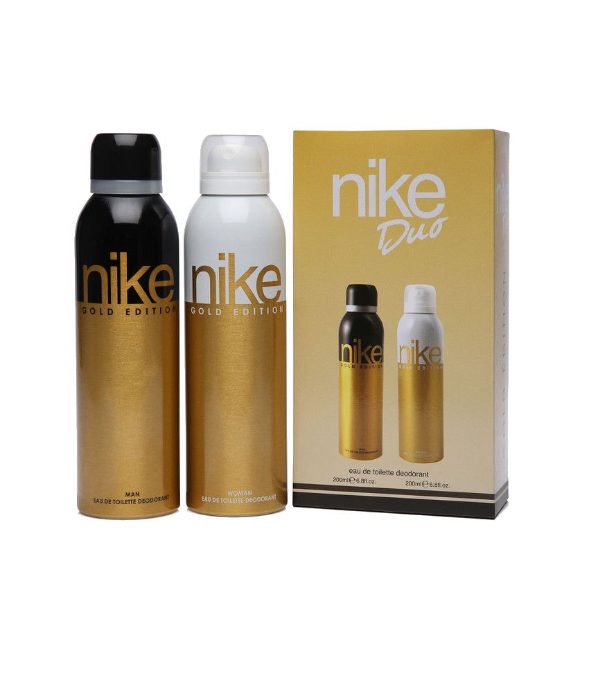 Nike Combo of Gold Edition Duo Deodorant 200 ml (Pack of 2)