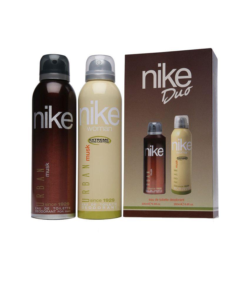 Nike Combo of Urban Musk Duo Deodorant 200 ml (Pack of 2)