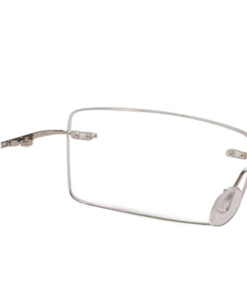9f834774b648 Odyssey Silver Rimless Frame-Eyeglasses - Buy Odyssey Silver Rimless ...