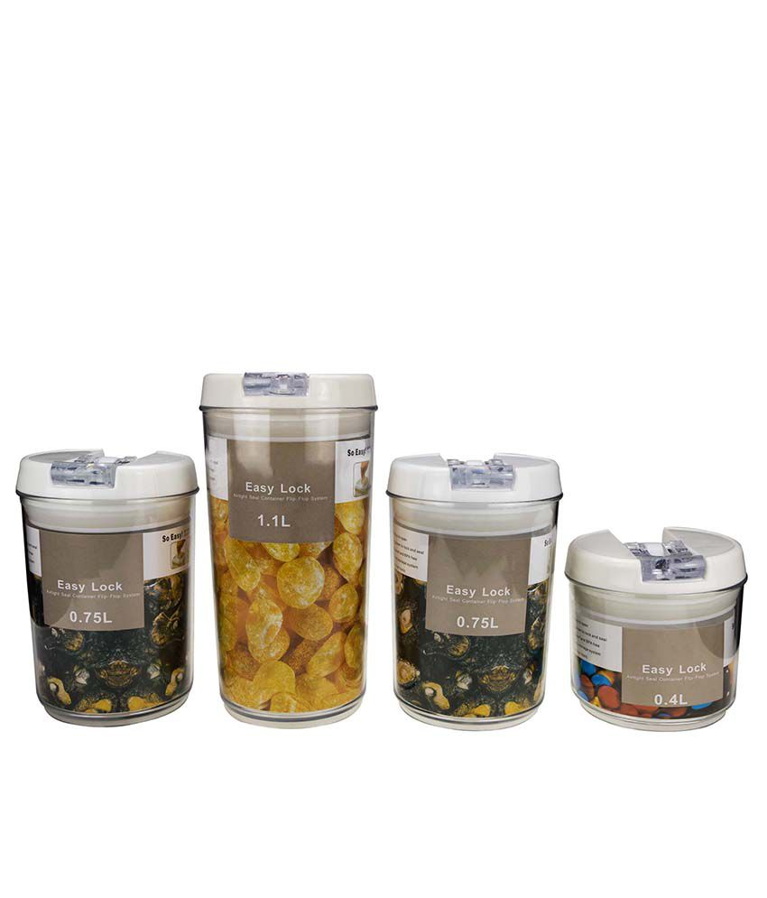 Anni Creations Polypropylene Containers - Set Of 4