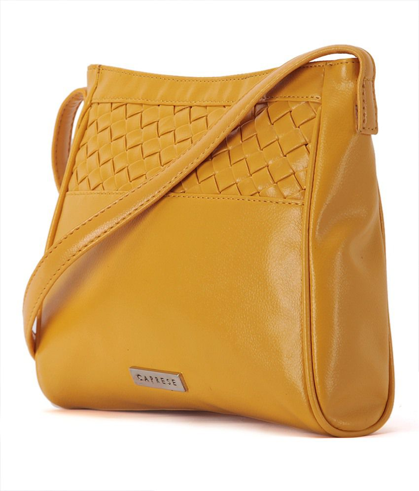 Caprese SGTWIMDOCR Yellow Sling Bags - Buy Caprese SGTWIMDOCR ...