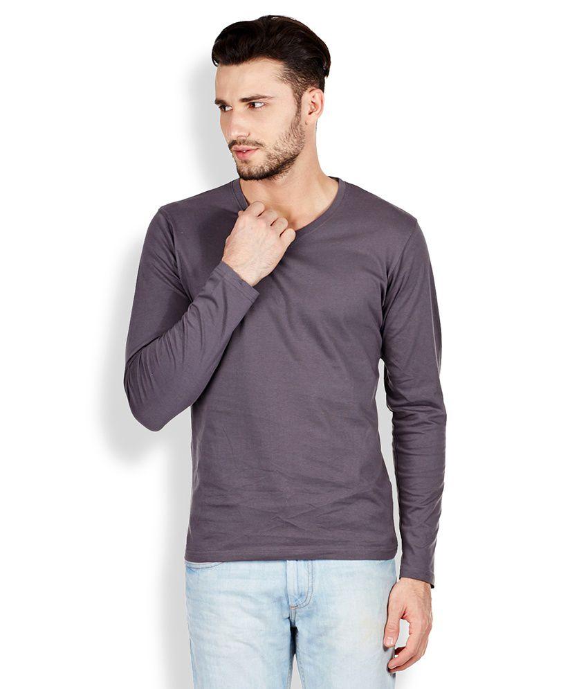 Highlander Grey V-Neck T-Shirt
