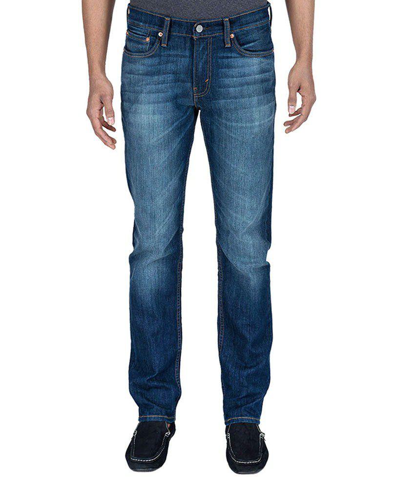Levi'S Blue Slim Fit Jeans