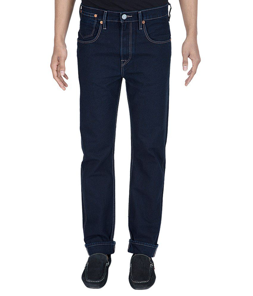 Levi'S Navy Blue Slim Fit Jeans