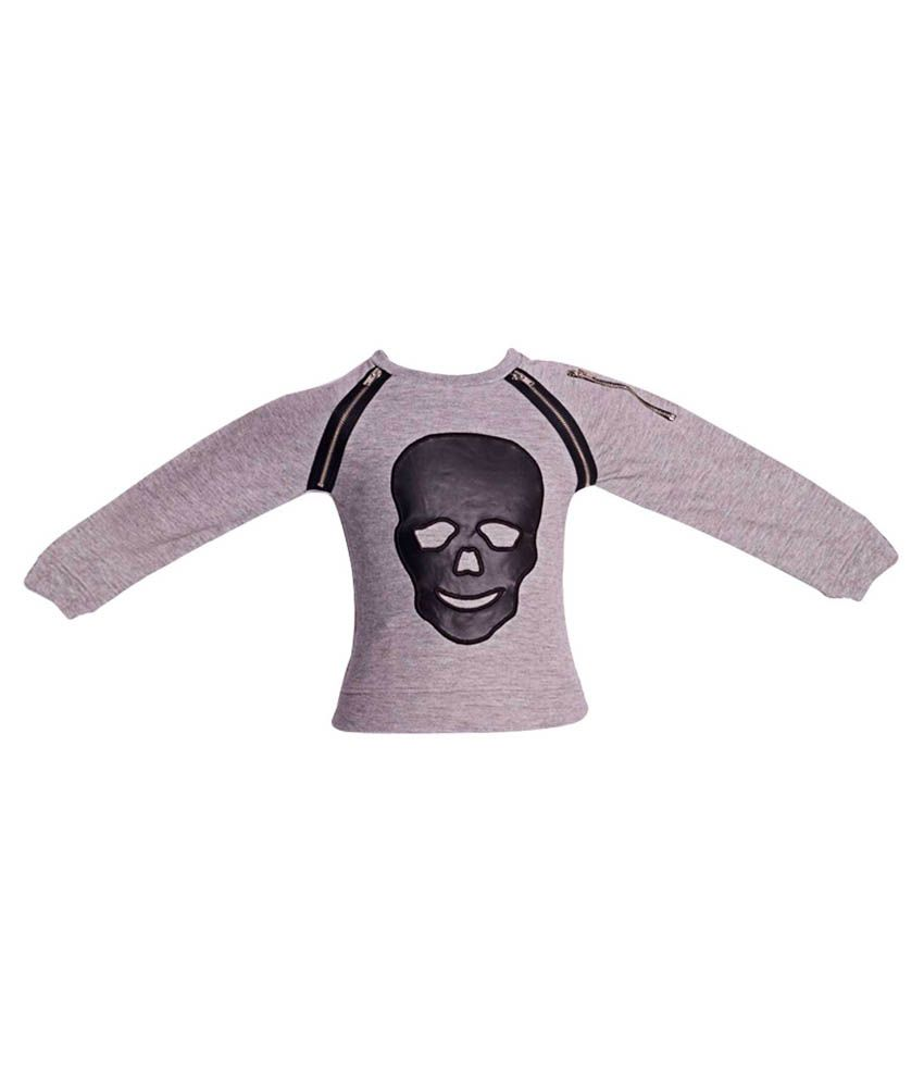 Parv Collections Gray Sweatshirts