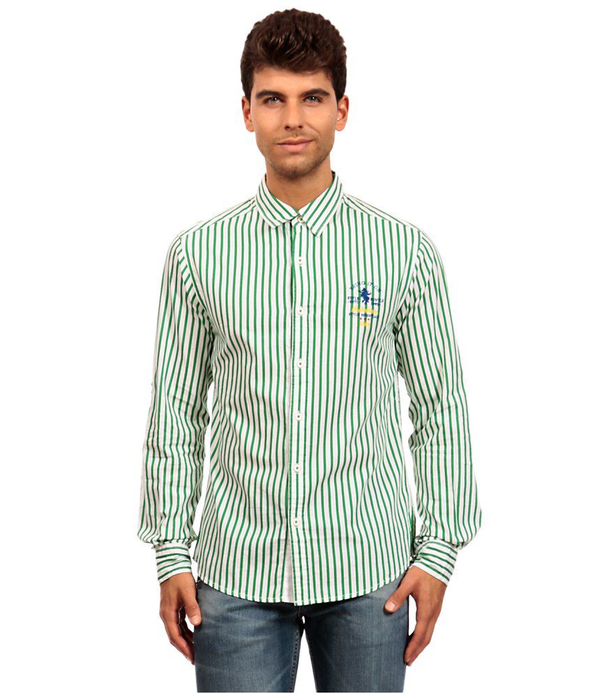 2fb7bdbe7362 Spykar Khaki Cotton Casuals Linen Shirt available at SnapDeal for Rs.878