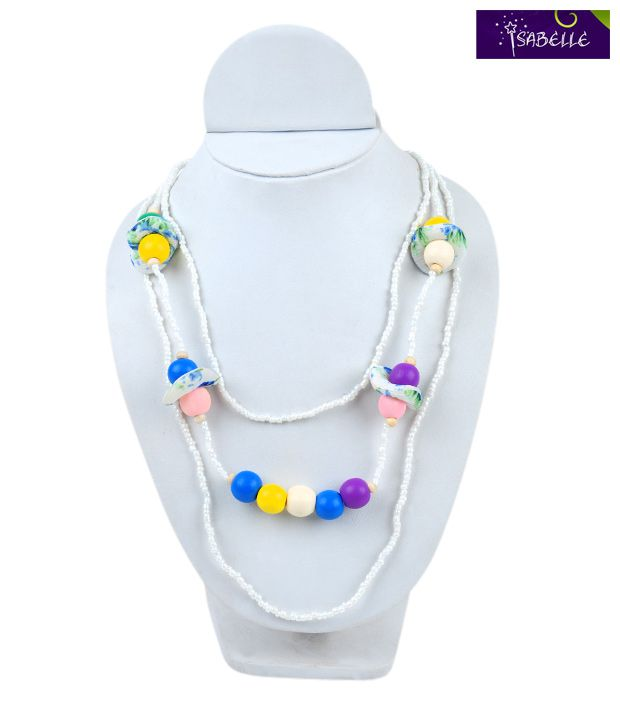 Isabelle Multi-colour Beads Neckpiece For Kids