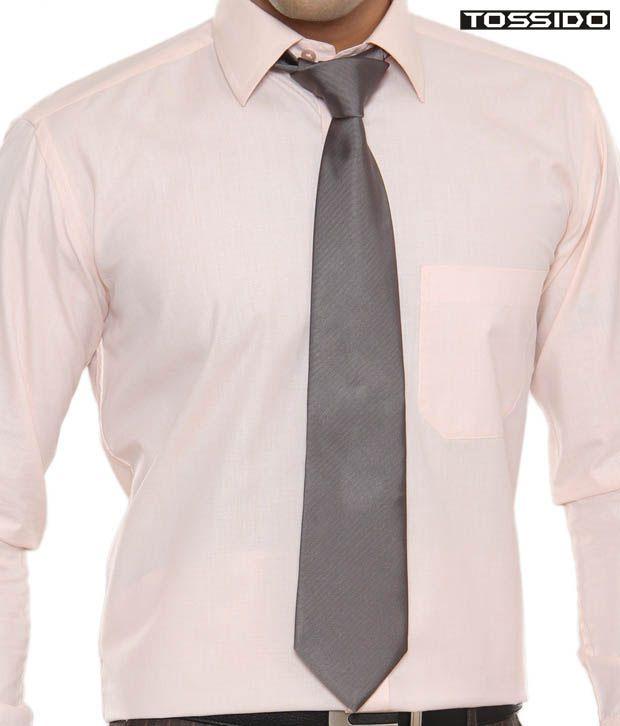 Tossido Modish Grey Tie