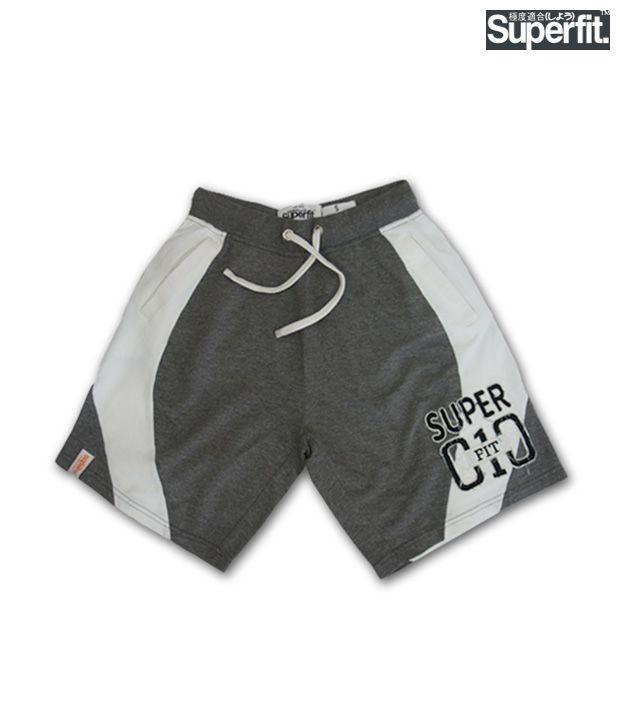 Superfit Dark Grey Shorts