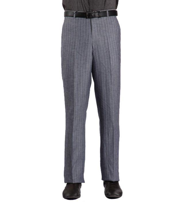 La Miliardo Classic Grey Trousers