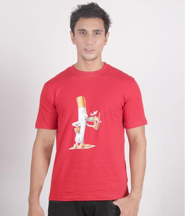 Fundoo-T Burning Red T-Shirt