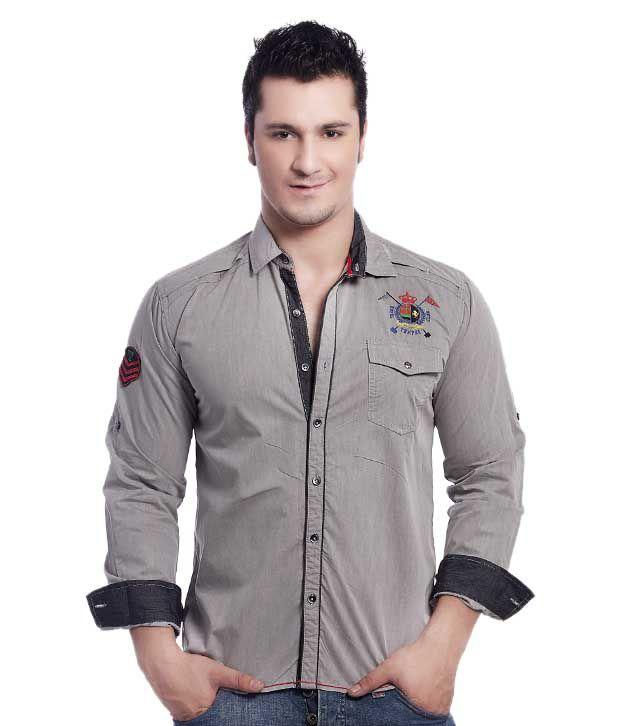 Teemper Grey Shirt
