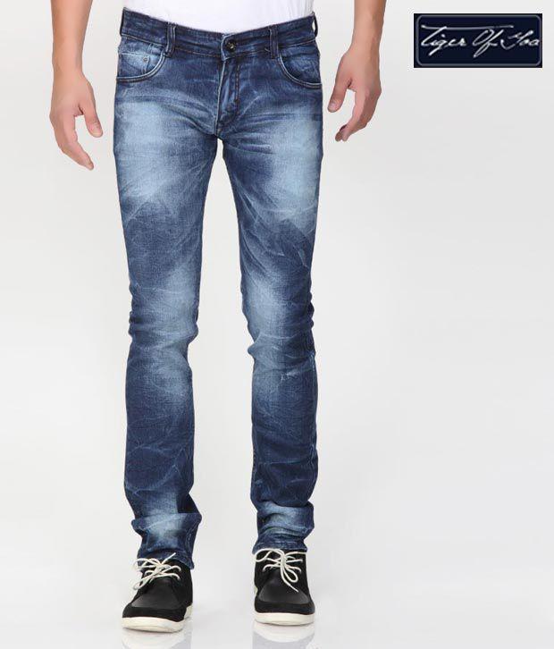 Tiger of Goa Serene Blue Jeans